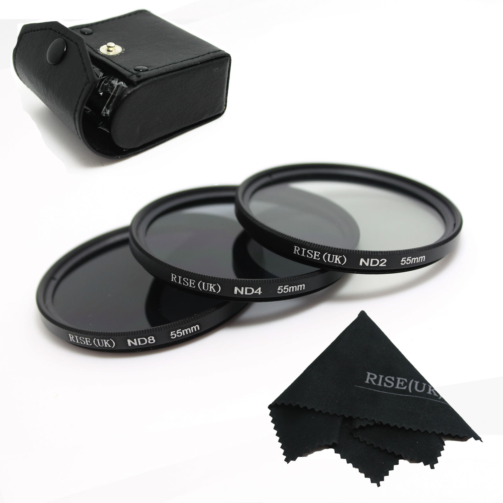 ND UV CPL Filter 58mm 3pcs//Set 49 52 55 58 62 67 72 77mm ND2 ND4 ND8 Neutral Density Filter with Box for Canon for Nikon DSLR Lens with Tracking