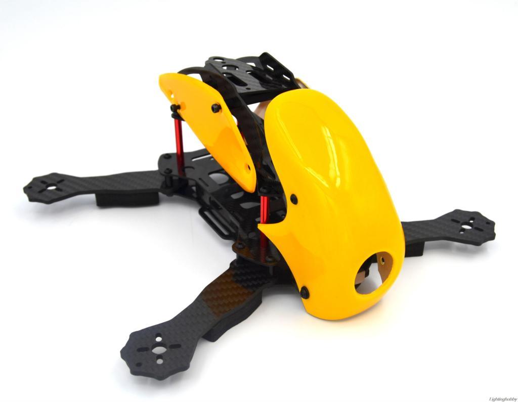 rc plane robocat 270 270mm 4 axis full carbon fiber racing mini quadcopter frame