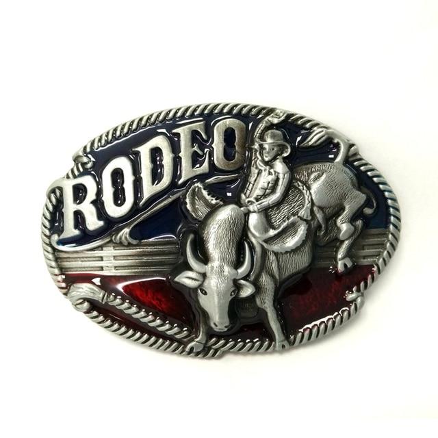 3263ea9f5ca2 Western rodeo cowboy ceinture boucle en métal hommes grande boucle pour  ceintures accessoires au détail en