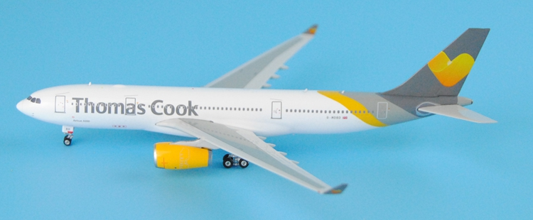 rare Fine Phoeni 1: 400 11165 Thomas Cook A330-200 G-MDBD Alloy aircraft model Collection model Holiday gifts gabriela pohoata romanian educational models in philosophy