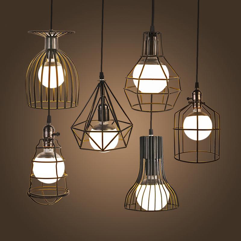 Industrial Lighting Restaurant: NEW Vintage Iron Pendant Light Industrial Loft Retro