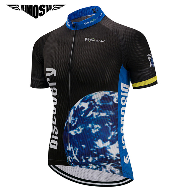 Weimostar 2018 Discovery Cycling Jersey Men Pro Team Cycling Clothing Ropa  Ciclismo Summer mtb Bike Jersey Road Bicycle Clothes 0cc8da096
