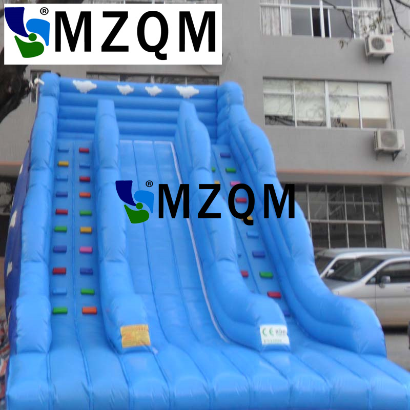 MZQM Free Shipping Cartoon Inflatable Best Popular Kids Inflatable Jumping Castle Slide Inflatable Slide
