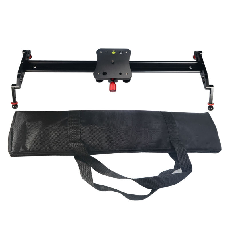 Mcoplus 24''/60cm Camera Video Track Dolly Slider Stabilizer System for DSLR DV Cameras Camcorder Photography Max load 8kg
