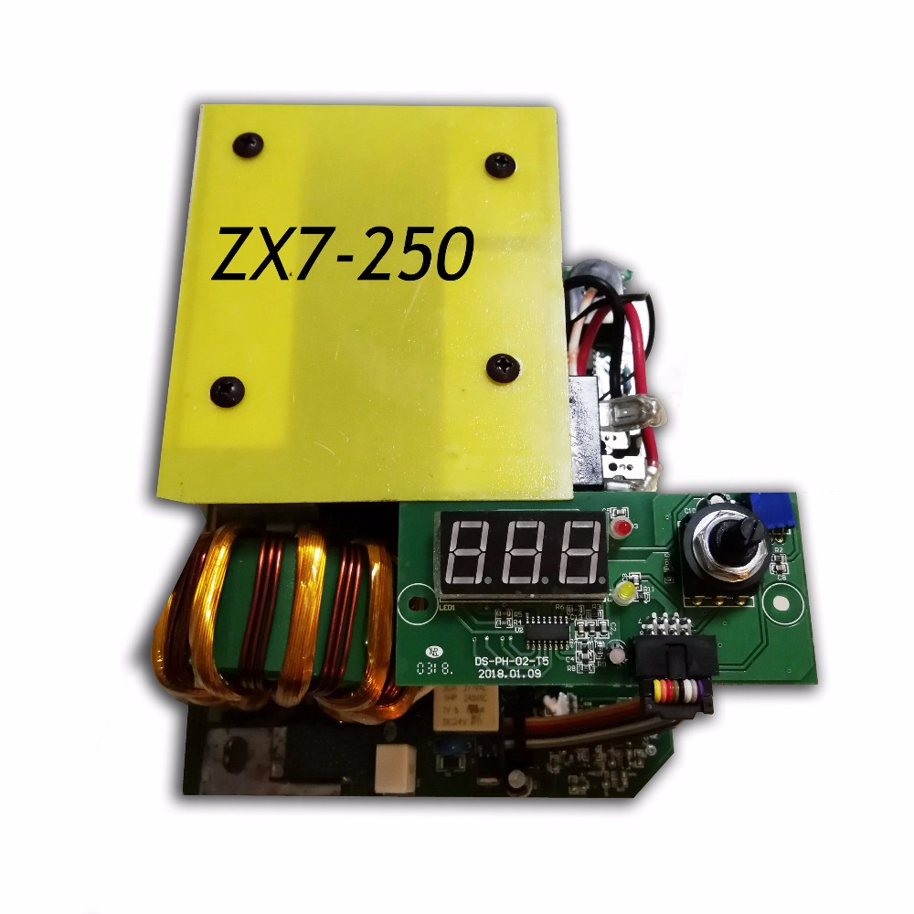 MMA welding machine board  ZX7-250 IGBT PCB  Single board  for dc inverter welder inverter electric welder circuit board general money welding machine 200 drive board