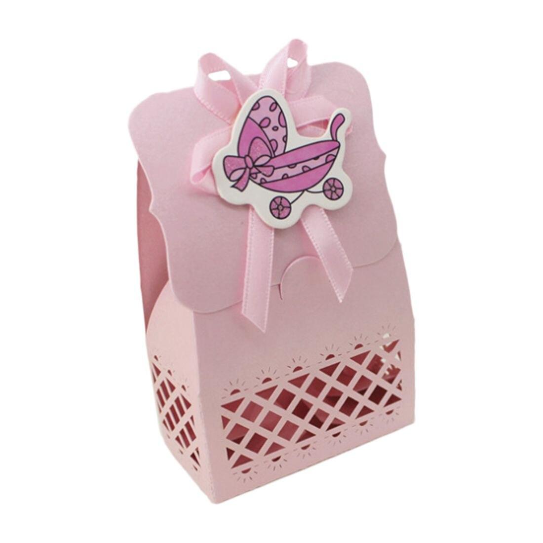 12 шт. милый ребенок душ коробка конфет событие для вечеринок украшения бумаги крещение малыш сувениры Сладкий подарок на день рождения сумк...