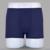 Suave transpirable mens underwear boxers underwear de fibra de bambú de los hombres u boxeador de los hombres convexos esquina Gran Tamaño XL 5XL pantalones cortos 5 unids/lote
