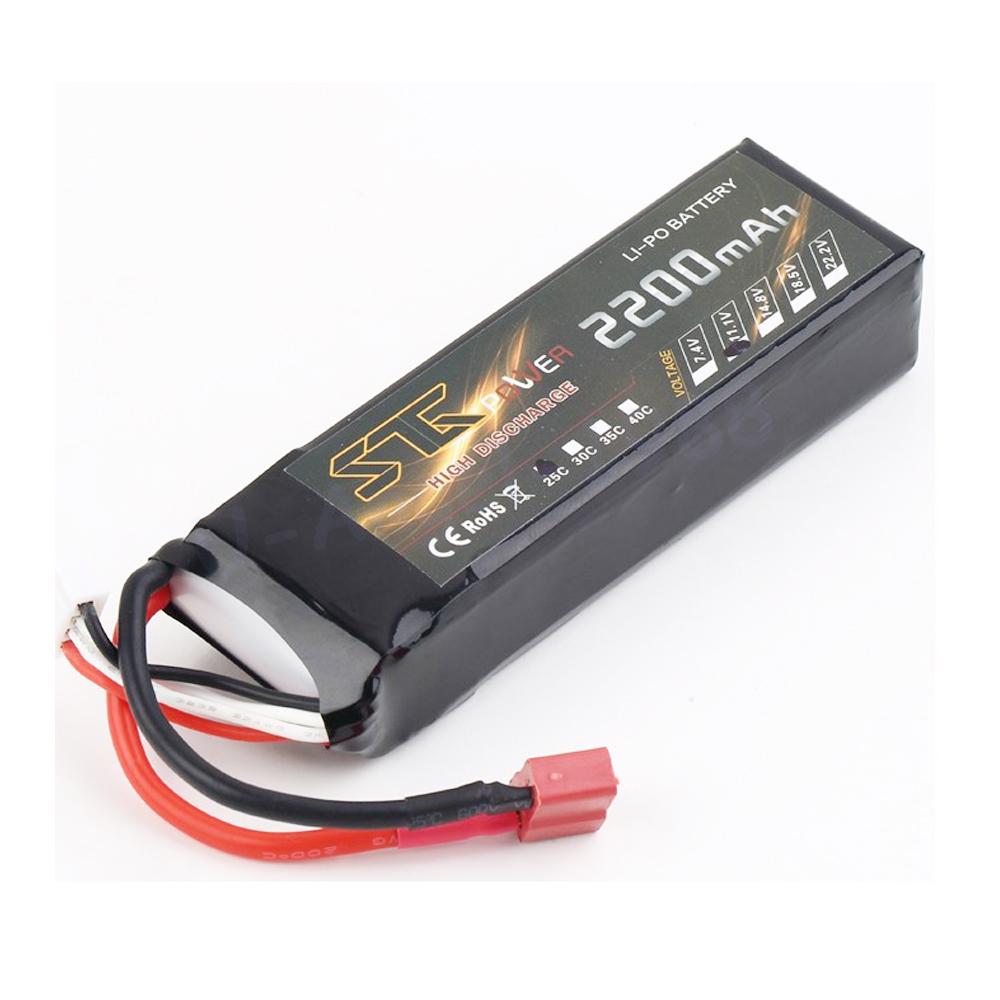 STG 11.1v 2200mah 25c MAX 35C AKKU LiPo RC Battery For Rc Trex 450 Helicopter 3S +free shipping 5pcs akku trex 450 rc helicopter tie dowen strap for 11 1 3s 2200 battery