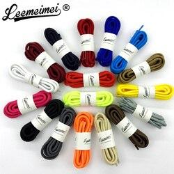 1 Paar 20 Farben Top-qualität Polyester Solide Klassische Runde Schnürsenkel Beiläufige Sport Stiefel Spitze 90 cm 120 cm 150 cm