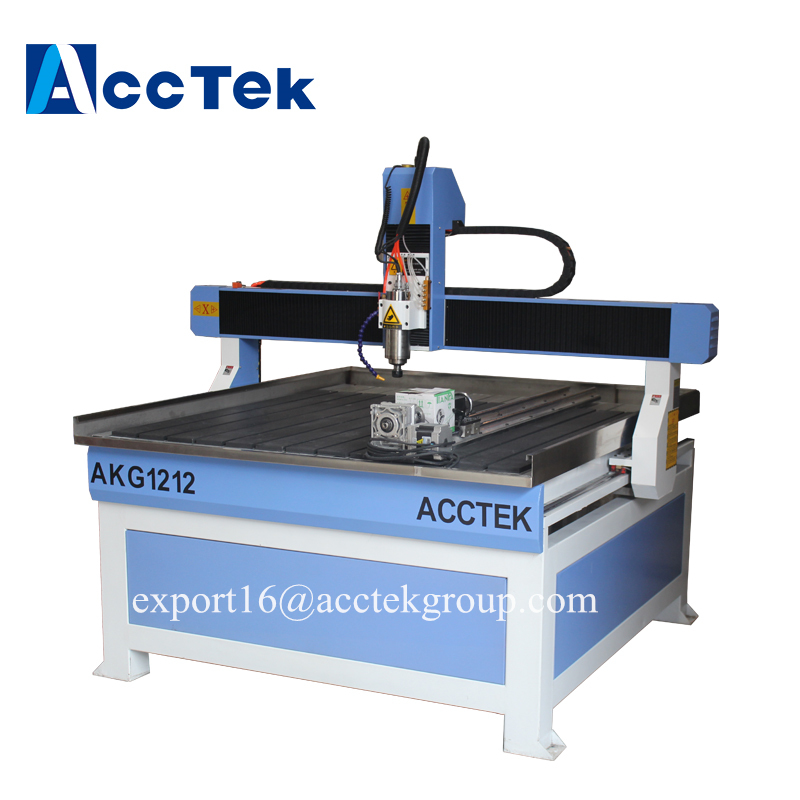 Factory price 1212 4*8ft cnc router machine for advertising industry acrylic double plate furniture wood mdf