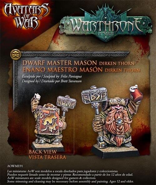28242 Dwarven Stone Master 28mm