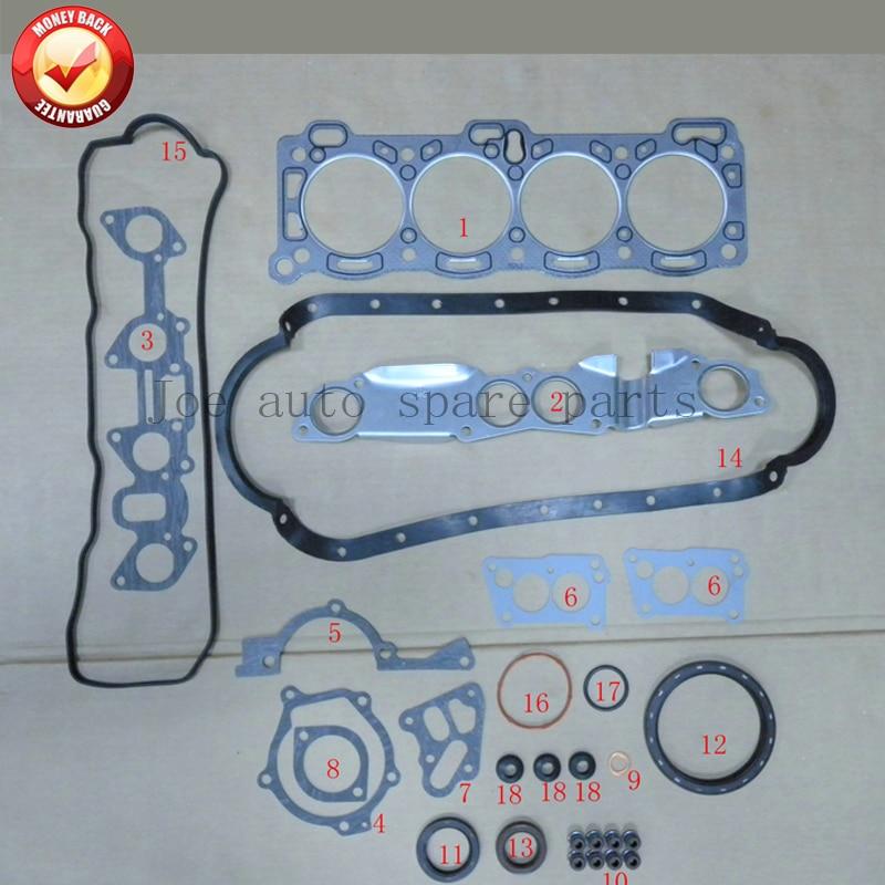 4ZD1 Engine Complete Full Gasket Set Kit For ISUZU Pick Up