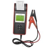 LANCO M568 автомобиля Батарея тестер Многоязычная 12 В 2000CCA Батарея Системы обнаружить автомобильные плохо ячейки Батарея инструмент диагностик
