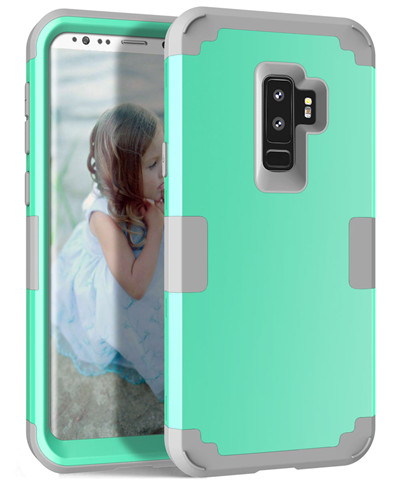 Heavy Duty Hybrid Case For Samsung Galaxy S9 S9Plus Shockproof Armor Rugged Case Cover Hard PC + Soft Rubber Silicone Phone Case (28)