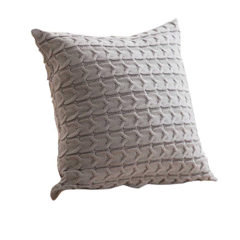 Hoomall nowy rok strona główna ręcznie robiona poduszka obicia na poduszki dzianinowe nici miękkie ciepłe poduszki w stylu europejskim Almofada hurtownia