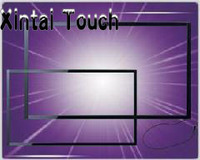 Xintai Touch Real 10 Points 40 inch Multi Touch Overlay Kit / IR Touch Screen Panel For LCD Monitor