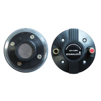 STARAUDIO Pair 25MM 8 Ohms 1000W Titanium Compression Screw on Horn PA DJ Disco Audio Powered Speaker Tweeters Driver SDV 25MM