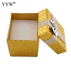 5 штук в партии шкатулка держатель ожерелье Модные женские контейнер дисплей посылка серьги футляр для хранения подарочная бумага boxex