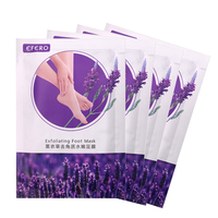 8Pair Lavender Nourishing Baby Feet Maks Peeling Remove Dead Skin Cuticles Heel Exfoliating Baby Foot Care Mask Pedicure Skin Care