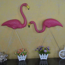 Garden Decor  2pcs/-75cm,pink Flamingo Lawn Decoration Theme Party Dessert Table Arranged. Balcony