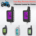 Waterproof 2 Way  Motorcycle Motor Alarm Anti-hijacking Arm Reminding Shock ACC Alarm LED Indicator Remote Start Stop