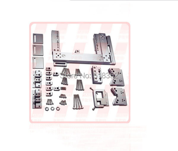 Étau EDM de EPT-706 précision, Base universelle des outils de gabarit d'étau d'acier inoxydable SUS440 pour la découpeuse de fil d'edm