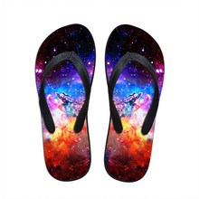 Nopersonality Fashion Design Men Slippers Men's All Galaxy Star Printed Home Flip Flops For Man Comfortable Unisex Casual Shoes