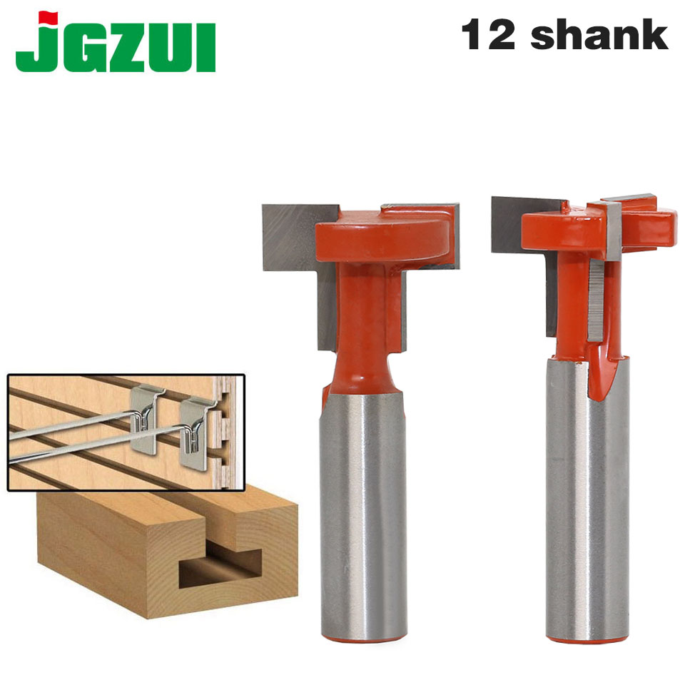 1pcs 12mm Shank Top Quality T-Slot & T-Track Slotting Router Bit For Woodworking Chisel Cutter Wholesale Price