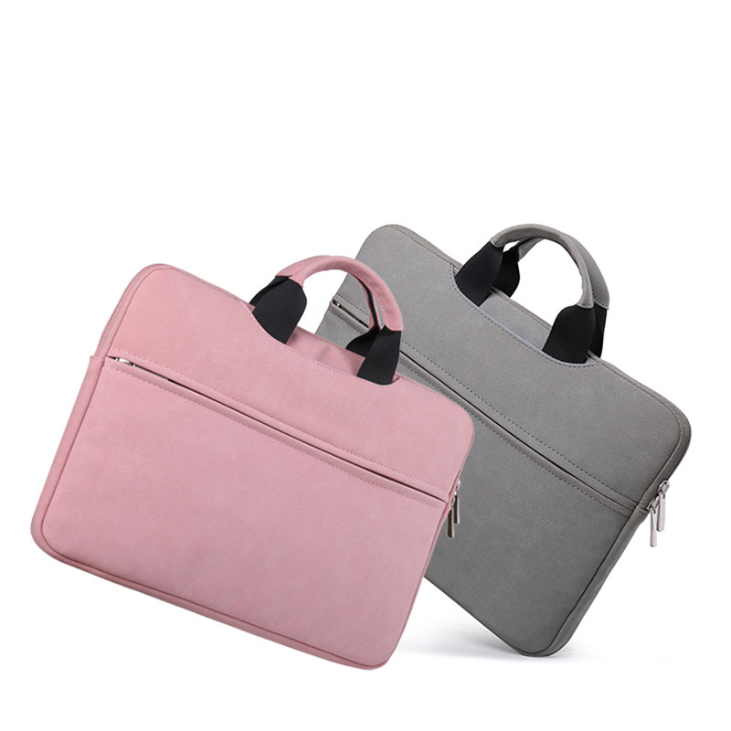 Microfiber Leather Laptop bag case 11 12 13.3 14 15 15.6 inch Bag for laptop Women Bag for Macbook air 13 pro for xiaomi air 12 Price $21.55