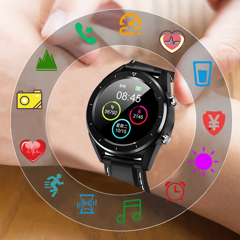 KSUN GPS Phones Cheep Smart-Watch Touch-Screen Bluetooth Health Waterproof Sport Android/ios