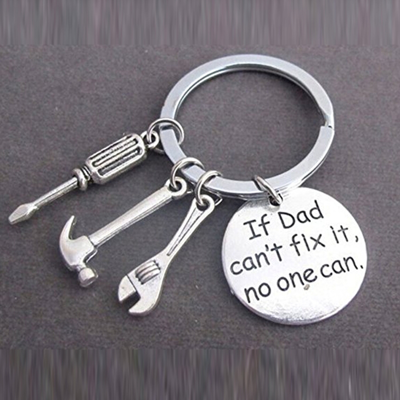 1 Pc New Creative Tool Wrench Spanner Key Chain Ring Keyring Metal Keychain BH