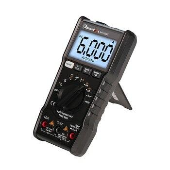 MUSTOOL MT108T Mini Platz Welle Ausgang True RMS NCV Temperatur Tester Digital Multimeter 6000 Zählt Hintergrundbeleuchtung