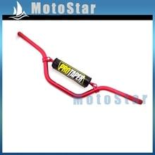 7/8 ''22 мм красный SE средняя высота руль накладка ручка бар для китайского Пита ПроТейпер Байк мотоцикл