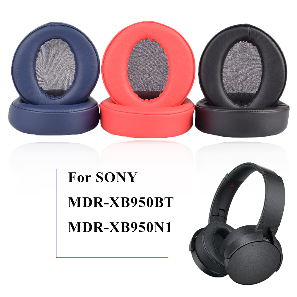 Replacement Earpads Cushion Cups Cover Repair Parts Ear Pads for SONY MDR-XB950BT XB950B1 Headphone Headset
