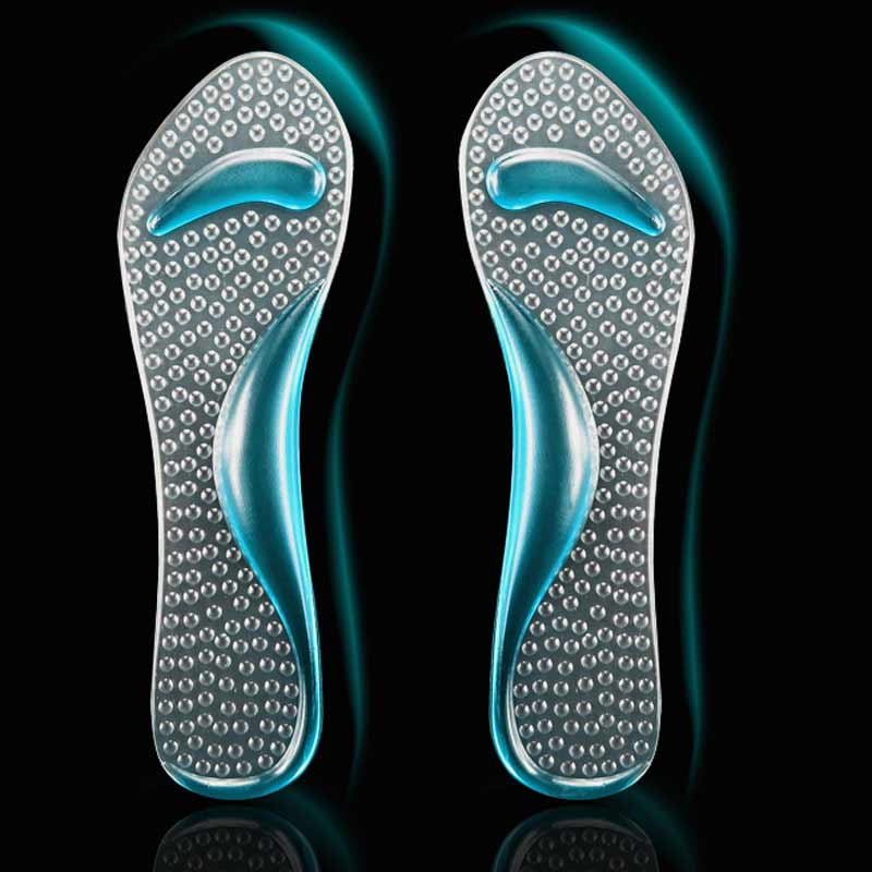 2ead56b0013 1Pair Soft Silicone Massage Arch Support Gel High Heel Cushion Orthopedic  Gel Insoles Of Flatfoot Inserts For Shoes Woman-in Foot Care Tool from  Beauty ...