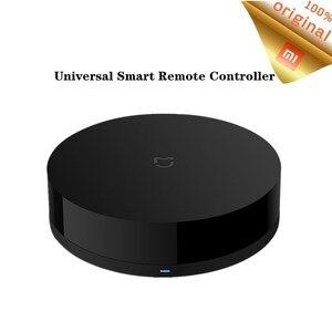 Image 1 - Original Xiaomi Universal Remote Controller Intelligent 360 Degree WIFI+IR Switch Smart Home Appliances Sensor By Mijia APP 2019