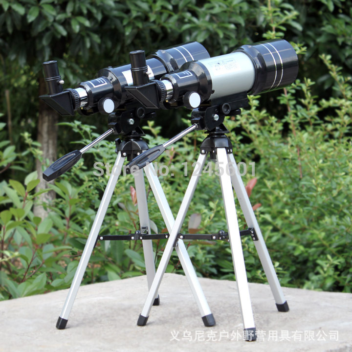 The space telescope 150X refracting telescope (300 / 70mm) + USB (new version) electronic eyepiece telescope