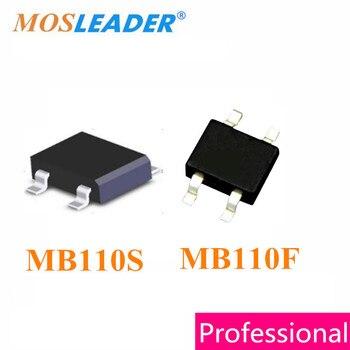 Mosleader MB110S MB110F SOP4 1000PCS MB110 1A 100V Schottky Bridge Rectifier High quality