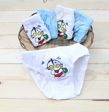 Kiqoo 3pcs/lot New Lot Baby Boys Underwear Kids Super Man Boys Briefs For 2-10y Free Shipping