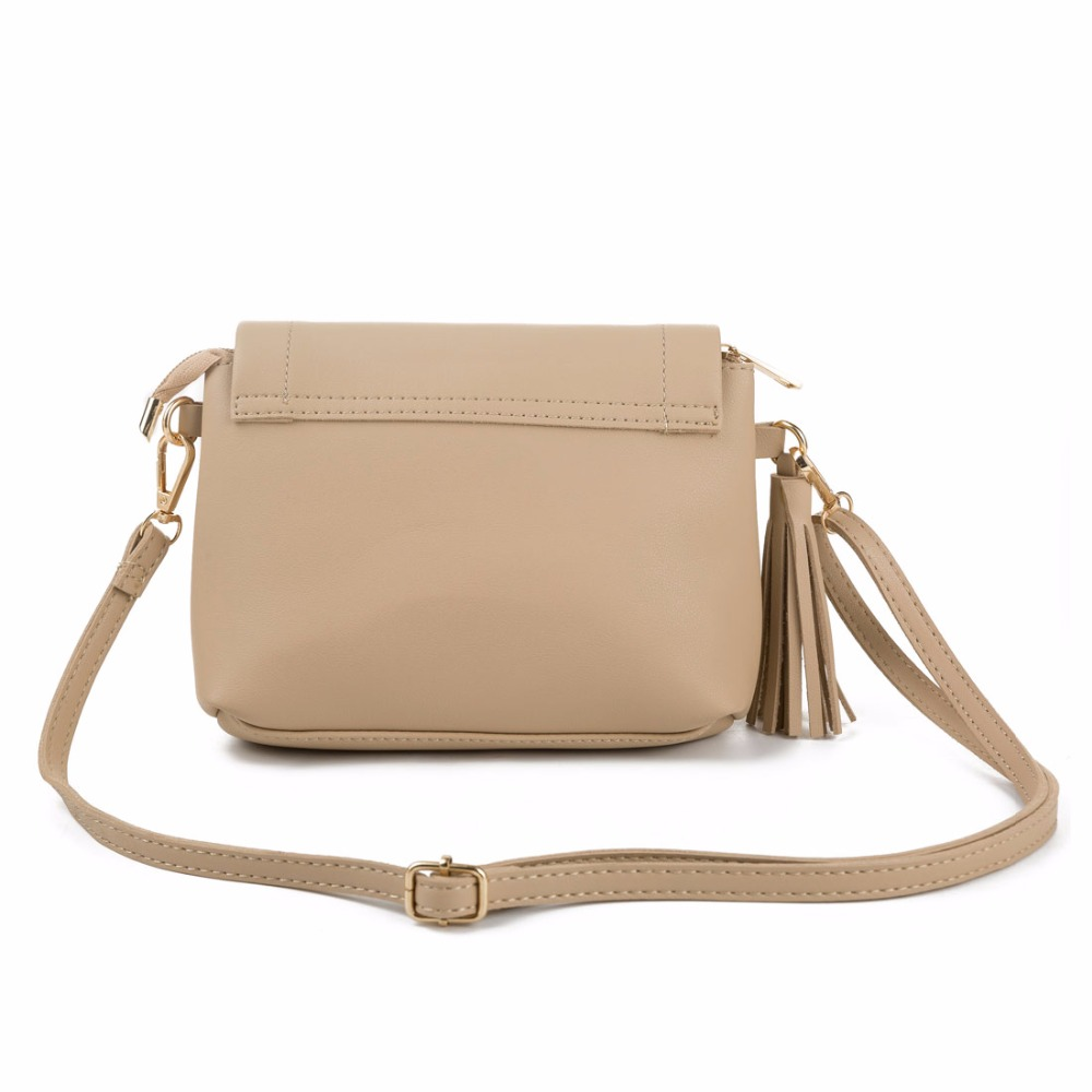 Miyahouse Hot Sale Trendy Female Envelope Crossbody Bag PU Leather Women  Small Tassel Shoulder Bags Ladies Flap Handbags-in Shoulder Bags from  Luggage ... cbc56ec819d57