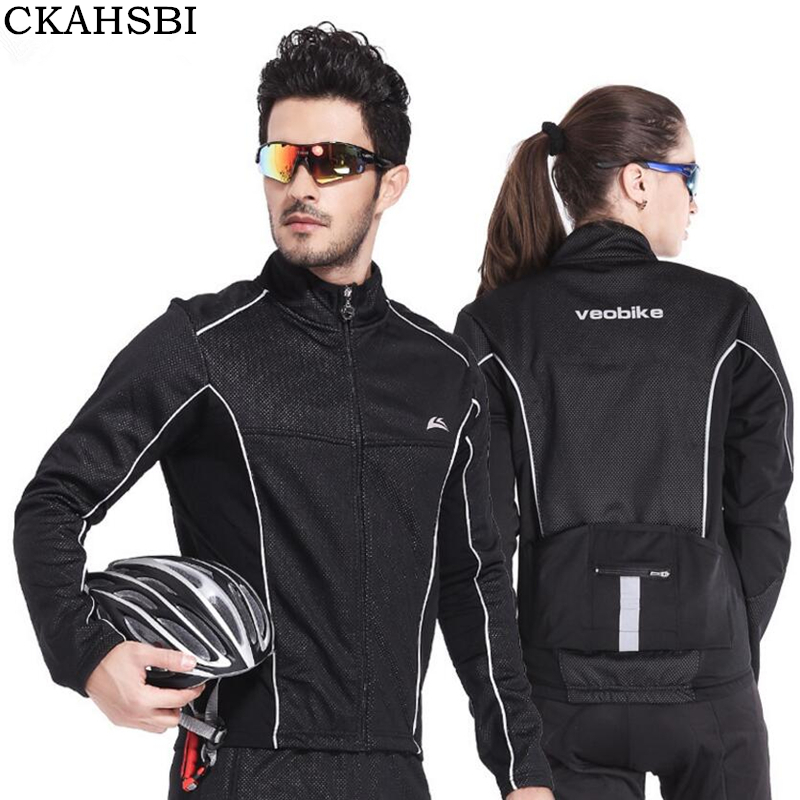 CKAHSBI Autumn Cycling Jackets Windproof Cycling Cloth Jersey Long Sleeve Coats Breathable Men Women Road Mountain Bike Jacket women s cycling shorts cycling mountain bike cycling equipment female spring autumn breathable wicking silicone skirt