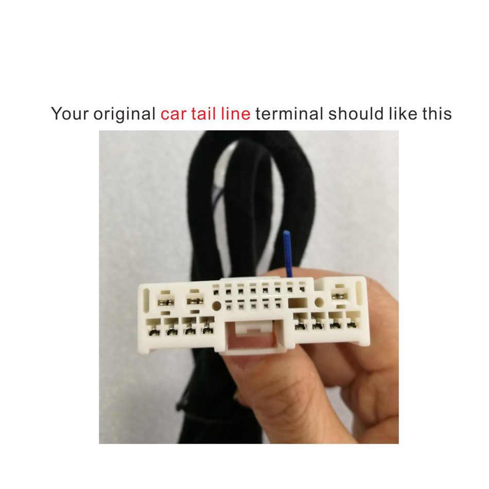 PUZU #6 kable w wiązce wzmacniacz samochodowy DSP kabel ISO na samochód mazda