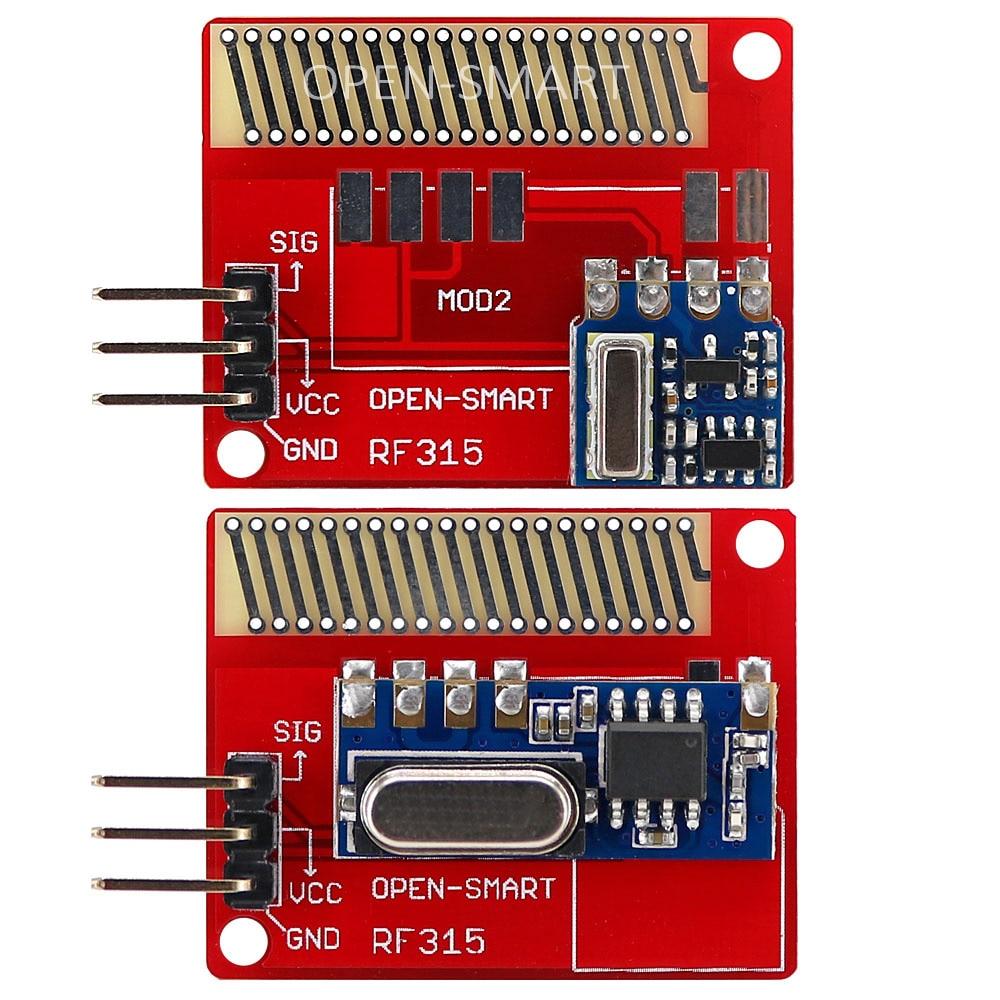OPEN-SMART Long Range 315MHz RF Wireless Transceiver Kit for Arduino LORA Board Mini RF transmitter receiver module 315 MHz Kit