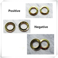 New fashion High quality Curtain accessories large roman ring roman grommet for curtains gold and silver hole-digging circle