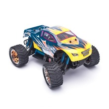 HSP Rc Coche Escala 1/16 Sin Escobillas Del Motor de Coche de Control Remoto 4wd Electric Power Off Road Monster Truck KidKing 94186Pro Hobby coche