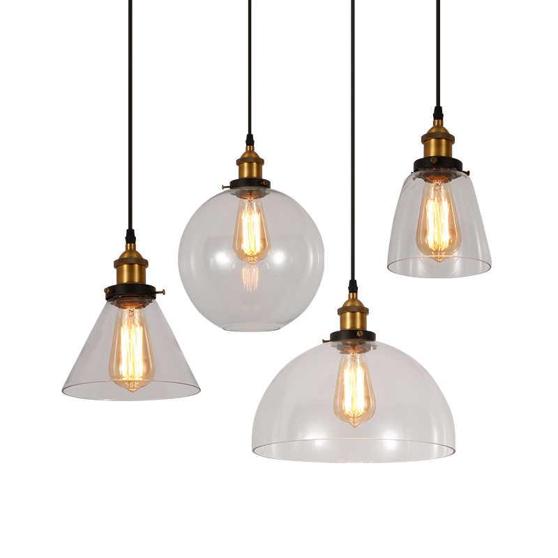 Colgante Luz Vintage Luces Colgantes Retro Lampara Colgante De