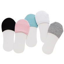 7 color Korean version of the invisible half socks summer cotton forefoot high heels womens foot