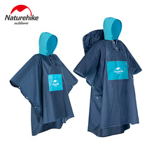 Naturehike Raincoat Backpack Rain Cover Waterproof Tent Hood Hiking Cycling Poncho Outdoor Camping Mat NH19Y036-Y
