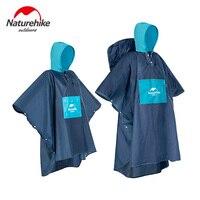 Naturehike Raincoat Backpack Rain Cover Waterproof Tent Hood Hiking Cycling Poncho Raincoat Outdoor Camping Tent Mat NH19Y036 Y