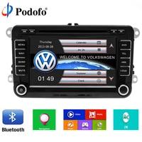 Podofo 2 Din 7 Car DVD Player For VW Volkswagen Passat POLO GOLF Skoda Seat With
